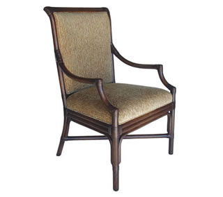 Devie High Back Arm Chair
