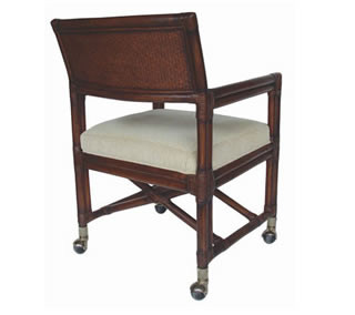 Melita Caster Chair