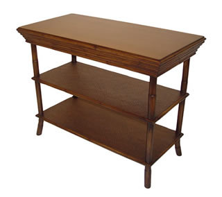 Gloria 3 Tier Console/Side Table