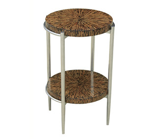 Coco Twig 2-Tiered Side Table