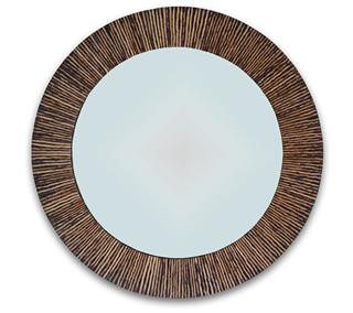 Coco Twig Round Mirror