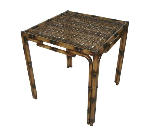 Lanai side table lacor furniture for Outdoor lanai furniture