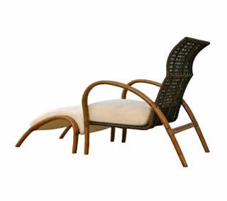 Cira Lounge Chair and Ottoman
