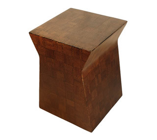 Abaca Concave Side Table/Stool