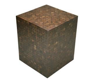 Cocoshell Mosaic Table